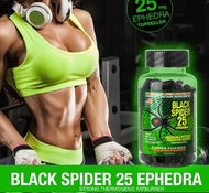 Black Spider  25 Ephedra (100 капс.) / Cloma Pharma